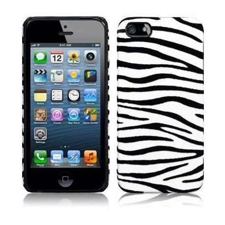 Fundas iPhone 5/5s Cebra