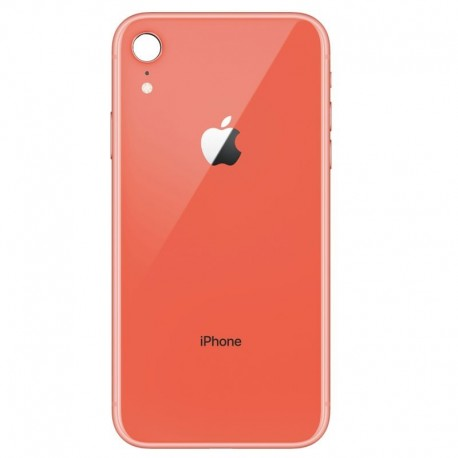Cristal trasero iPhone XR coral
